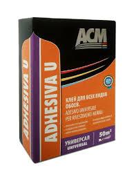ACM <b>клей</b> для <b>обоев</b> универсальный Adhesiva U, 250 гр. Италия ...