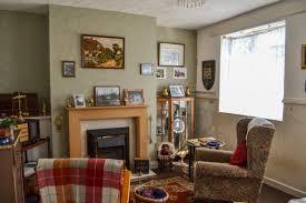 living room wartime