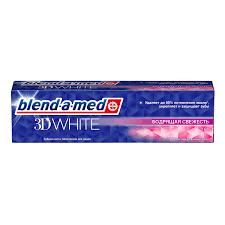 <b>Зубная паста Blend</b>-a-<b>med 3D</b> White - Бодрящая свежесть