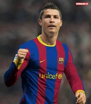 El Real Madrid tiene planes de traspasar a CR7 a el Barcelona