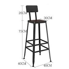 <b>2 pcs</b> Grey <b>Bar Stool</b>,Kitchen <b>Bar Stool</b> Upholstered Faux Leather ...