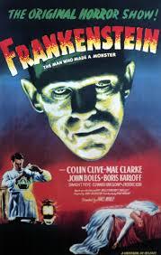 frankenstein 1931 frankenstein boris karloff poster low