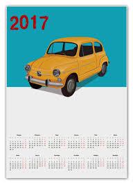 """Календарь А2 """"Ретро <b>авто</b>"""" #1654589 от BeliySlon - <b>Printio</b>"""