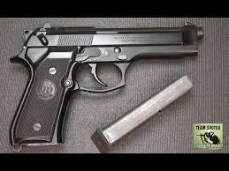 DIY Beretta 92/96/<b>M9</b> Magazine Catch: How to switch to <b>Left side</b> ...