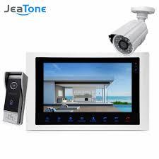 7''<b>WIFI</b> Video Door Phone <b>IP</b> Doorbell Intercom Touch Screen for ...