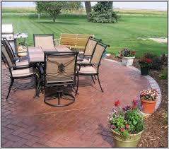 free backyard concrete patio designs