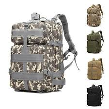 45L Every Day Carry <b>Tactical Assault Bag Military</b> Tactical <b>Backpack</b> ...
