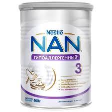 ᐅ <b>NAN</b> (Nestlé) <b>Гипоаллергенный 3</b> Optipro (с 12 месяцев) 400 г ...