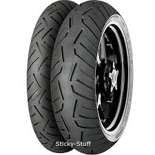 Motorcycle Tyres <b>Conti Road Attack 3 GT</b> 120/70/ZR17 & 180/55 ...