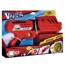 """<b>Бластер Vapor</b> """"Атлас <b>250</b>"""", с пульками, цвет: красный — купить в ..."""