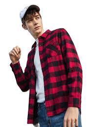Buy <b>Semir</b> Flannel <b>Plaid</b> Shirt Men 2019 Long Sleeve Shirt Men's ...