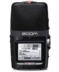<b>Цифровой диктофон</b>-рекордер со стерео микрофоном <b>Zoom</b> H2N