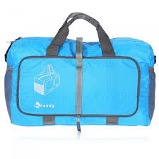 Hasky <b>Multi-function Folding Nylon</b> Bag for Travel Outdoors - Blue ...