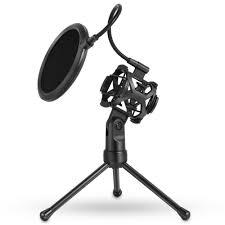 Yanmai Съемный настольный микрофонный держатель для ...