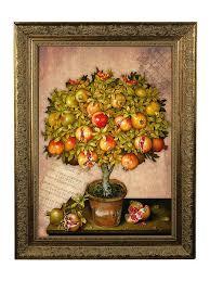 """Картина в клаcсической <b>раме</b> """"Гранатовое дерево"""" Elenadecor ..."""