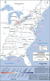 principalcampaignswar gif west point eastern united states 1812 the war of 1812 principal campaigns of the war