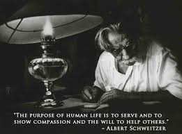 Supreme ten stylish quotes by albert schweitzer images English via Relatably.com
