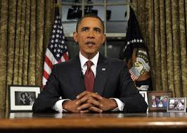obama will deliver a speech from the oval office for the first time since announcing the end of us combat operations in iraq in 2010 barack obama oval office
