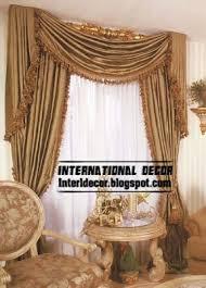 room curtains catalog luxury designs: luxury silk curtain drapes for living room interior
