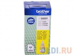 <b>Чернила Brother BT5000Y</b> желтый (yellow) 5000 стр. — купить по ...