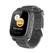 CONNECTED SPORT <b>Elari KIDPHONE 2</b> - Smart Watch - Kid's - <b>black</b>