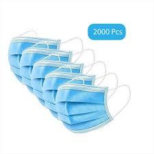Wholesale Earloop Disposable <b>Face Mask 3</b> Ply - <b>2000 pcs</b> - AZ ...