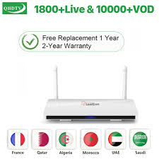 Hot <b>Leadcool</b> IPTV <b>1 Year QHDTV</b> Subscription Android 8.1 French ...