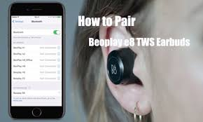 How to Pair Beoplay e8 <b>TWS</b> Earbuds with iOS iPhone or Android ...