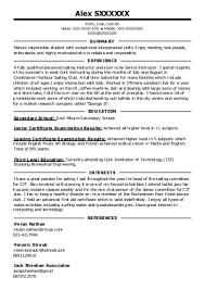 care assistant cv template job description cv example resume resume for childcare