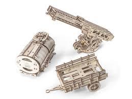 Купить <b>3D</b>-<b>пазл UGears Дополнение</b> к грузовику UGM-11 ...