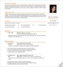 resume  free resume samples