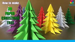 3D Paper <b>Christmas Tree</b> | How to Make a 3D Paper <b>Xmas Tree</b> DIY ...