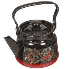 <b>Чайник эмалированный Сибирские товары</b> С2714.38/С2714.8 ...