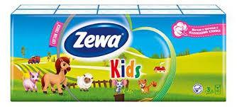 Купить <b>платки Zewa</b> Plus <b>носовые детские</b>, 10 шт, цены в Москве ...