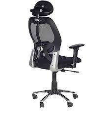 buy matrix high back office chair in black colour by chromecraft online executive chairs chairs pepperfry buy matrix high office