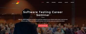 software testing career seminar level apr
