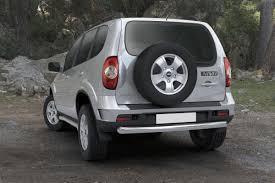 <b>Защита заднего бампера d76</b> Rival для Chevrolet Niva I ...