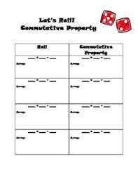 1000+ images about Properties (Math & Science) on Pinterest ...Multiplication Commutative Property Worksheet