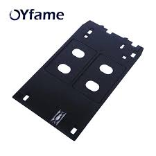 OYfame <b>J type PVC ID</b> Card Tray for Canon IP7120 IP7130 IP7180 ...