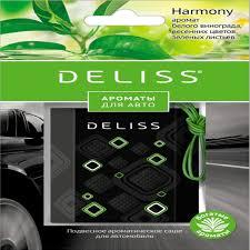 Каталог <b>Саше подвесное ароматическое Deliss</b> для автомобиля ...