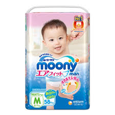 <b>Трусики Moony Man</b> (Муни), размер M, 6-11 кг., 58 шт. — купить в ...