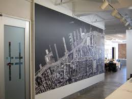 high line aerial wall art and desktop wallpaper art for the office wall