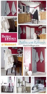 bathroom refresh:  bh g bathroom refresh challenge