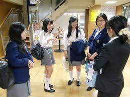 香蘭女学校高等科制服画像