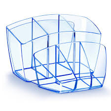 cep ice blue desktop organiser cep80740 cep ice magazine rack