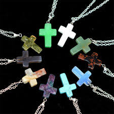 <b>Natural Stone</b> Cross Fashion <b>Necklaces</b> & <b>Pendants</b> for sale | eBay
