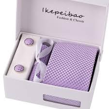 Ikepeibao <b>Custom Brand</b> Men <b>Ties</b> Purple Checked Blue Dots ...
