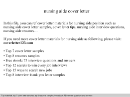 nursing aide cover letter in this file you can ref cover letter materials for nursing nurse aide cover letter
