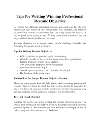 doc how to write a career objective on a resume example resume what to put as an objective on a resume whatto