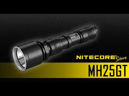 <b>Nitecore MH25GT</b> 1000 Lumens <b>Rechargeable</b> Long Throw <b>Flashlight</b>